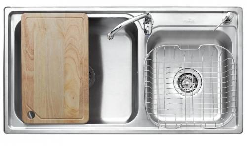 อ่างล้างจาน 2 หลุม MEX รุ่น TL932