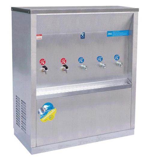 ตู้ทำน้ำร้อน น้ำเย็น MAXCOOL แบบต่อท่อประปา รุ่น MCH-5P (H2C3)