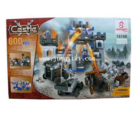 เลโก้บล็อกบุกป้อมปราสาท Castle Block 600 ชิ้น