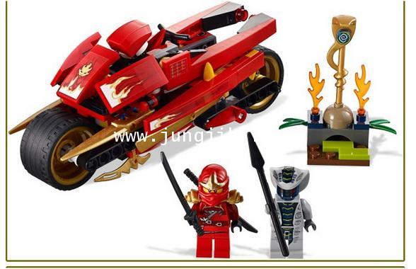 เลโก้บล็อกนินจานักดาบสายฟ้า Ninja Thunder Swordsman 187 ชิ้น