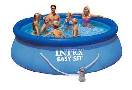 สระน้ำทรงกลมขนาดใหญ่ Easy set Pool Intex-28146 ( 360 cm. )