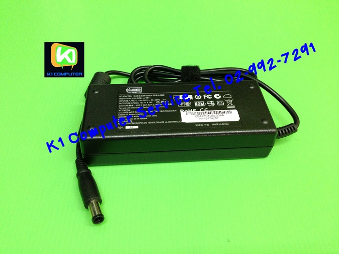 ADAPTER NB : 19V - 4.74A : 90W (7.4 mm X 5.0 mm With PIN)