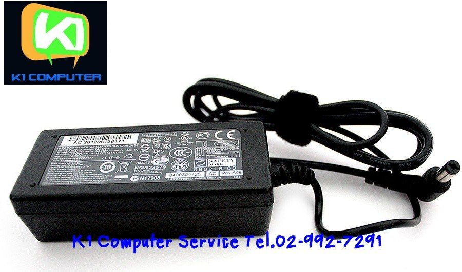 ORinglnal Adapter NB : 19V-1.58 A: 30W ( 5.5 x 1.7 )