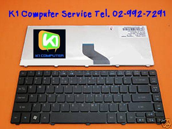 Keyboard for ACER 4535 4735 4736Z 4935 4810T 3810T SERIES gt; P/N : 9J.N1P82.A1D, NSK-AM11D (ภาษาไทย