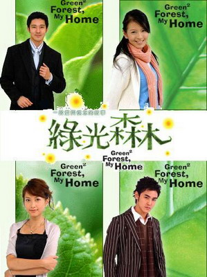 รักนี้นิรันดร(Green Forest , By Home)DVD 3 แผ่น พากย์ไทย