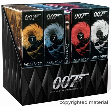เจมส์ บอนด์ 007 ครบชุด 21 ภาค โคลนจากมาสเตอร์ดีวีดี มีบริการเพิ่ม บ๊อกเซ็ทปก+กล่อง แจ้งเพิ่มเติมได้