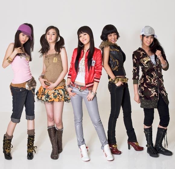 Wonder girls July-2008 MV Showcase 5 สาวมหัศจรรย์ จำนวน 1 แผ่นดีวีดี