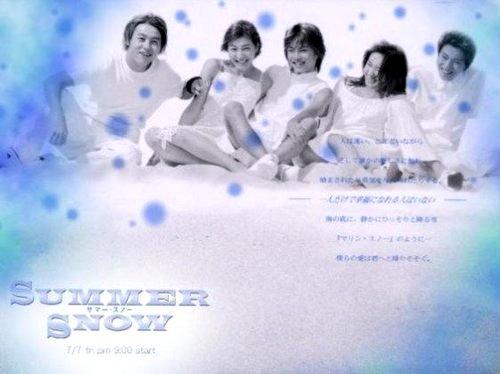Summer Snow...รักกลางใจในฤดูร้อน ดีวีดี บรรยายไทย 6 แผ่นจบ*โองุริ ชุน พระเอกจากเรื่อง Hana Kim