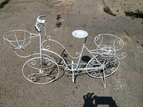 จักรยานเหล็กดัด 2 ตะกร้า (กลาง)