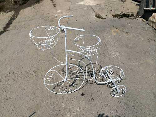 จักรยานเหล็กดัด 3 ตะกร้า (รองพิเศษ)