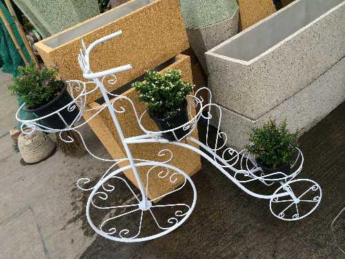 จักรยานเหล็กดัด 3 ตะกร้า (ใหญ่)