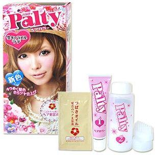 Palty สี Namacaramel Latte น้ำตาลอ่อน ประกายทองหม่น สวยมาก