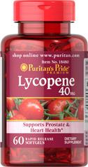 อาหารเสริมผิวขาว Puritan Lycopene 40 mg 60 Softgel ขาวอมชมพู ต้านอนุมูลอิสระ เหมือนทานมะเขือเทศ10ลูก