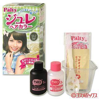Palty Jelly พร้อมเคลือบผม สี Sweet Kiwi (สีสวีทกีวี่)  สีเทาอมเขียว เก๋ชิคมากๆค่ะ