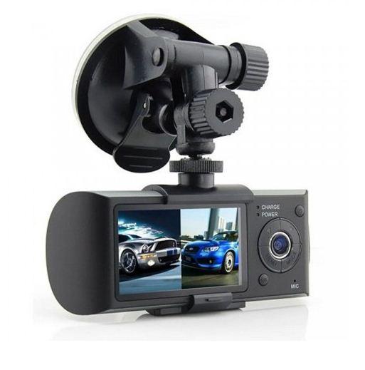 กล้องติดรถยนต์ R300 HD DVR มีเลนส์ 2 ตัว Double Lens CAR DVR แถมฟรี เมมโมรี่ 8G