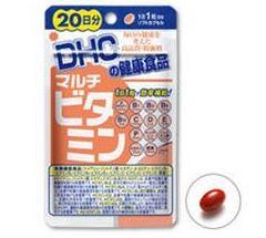 DHC Multi vitamin 20 วัน 20เม็ด รวมวิตามินที่ร่างกายของเราต้องการในทุกๆวันค่ะ