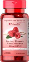 Puritan Raspberry Ketones White Kidney Bean ราสเบอรี่คีโตนผสมถั่วขาว ลดไขมันและแป้ง