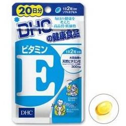DHC Vitamin E 20วัน เหมาะมากสำหรับคนผิวแห้งไม่ชุ่มชื่น ให้ผิวเนียนนุ่ม ป้องการการเหี่ยวย่น ลดหลุมสิว