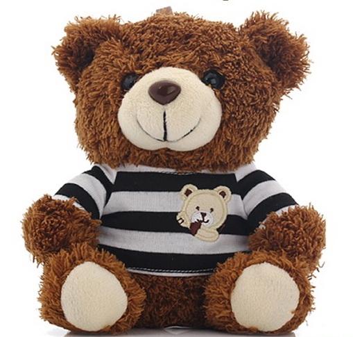 แบตสำรองตุ๊กตาหมี Power Bank 10000mAh กล่องสุดหรู พร้อมพวงกุญแจ แบตสำรองน่ารักๆ