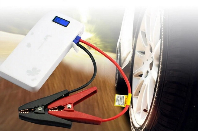 Power Bank IWO P42P แบตสำรองสตาร์ทรถได้ รถยนต์ รถมอเตอร์ไซค์ และชาร์จมือถือสมาร์ทโฟนได้ทุกรุ่น สีดำ