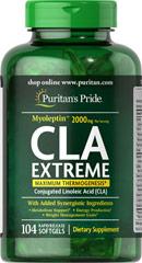 Puritan's Pride Myoleptin™ CLA Extreme complex /104 Softgels รวมลดน้ำหนักใน1เดียว