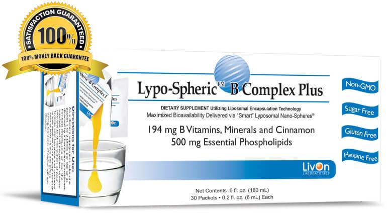 Lypo Spheric™ B Complex Plus วิตามินหน้าเด็ก ชะลอความแก่