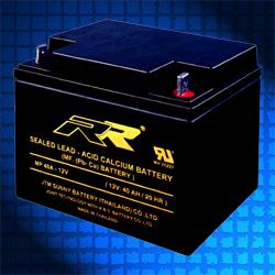 แบตเตอรี่ แห้ง 12V RR MP40A-12V THAI 12V 40Ah