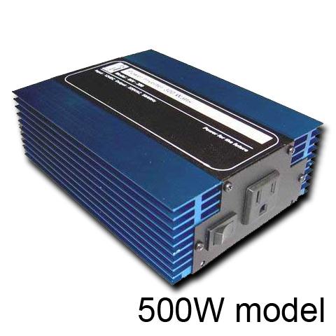 อินเวอร์เตอร์ Hi-end Katze Power Inverter Switching 500 Watts 24VDC แปลงไฟ DC เป็นไฟ AC