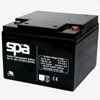 แบตเตอรี่แห้ง SPA SLA BATTERY  SL12-26 12V 26H