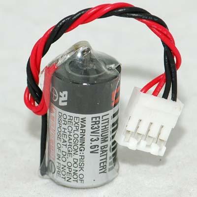 TOSHIBA ER3V / 3.6V Lithium Battery FUJI PLC CPM2A-BAT01 แบตเตอรี่ลิเธียม