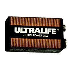 ULTRALIFE U9VL-J Lithium-Manganese Dioxide Non-Rechargeable Battery แบตเตอรี่ลิเธียม