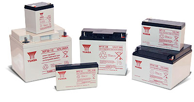 YUASA NP10-6 NP2-12 NP7-12 NP12-12 NP17-12 NP65-12 Acid Batteries