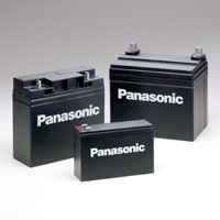 แบตเตอรี่แห้ง พานาโซนิค PANASONIC 12V 7Ah 7.2Ah LC-V127R2NA SLA