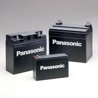 แบตเตอรี่แห้ง PANASONIC SLA BATTERY LC-R061R3P 6V 1.3AH
