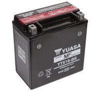 แบตเตอรี่มอเตอร์ไซต์ YUASA YTX16-BS TAIWAN Intruder 1400
