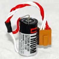 TOSHIBA ER17330V 3.6V 1700mAh Lithium Battery Omron 3G2A9-BAT08 C500-BAT08 แบตเตอรี่