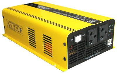 อินเวอร์เตอร์ Hi-end Katze Pure Sine Wave Power Inverter Switching 600 Watts 24VDC แปลงไฟ