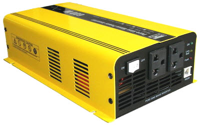 อินเวอร์เตอร์ Hi-end Katze Pure Sine Wave Power Inverter Switching 600 Watts 48VDC แปลงไฟ