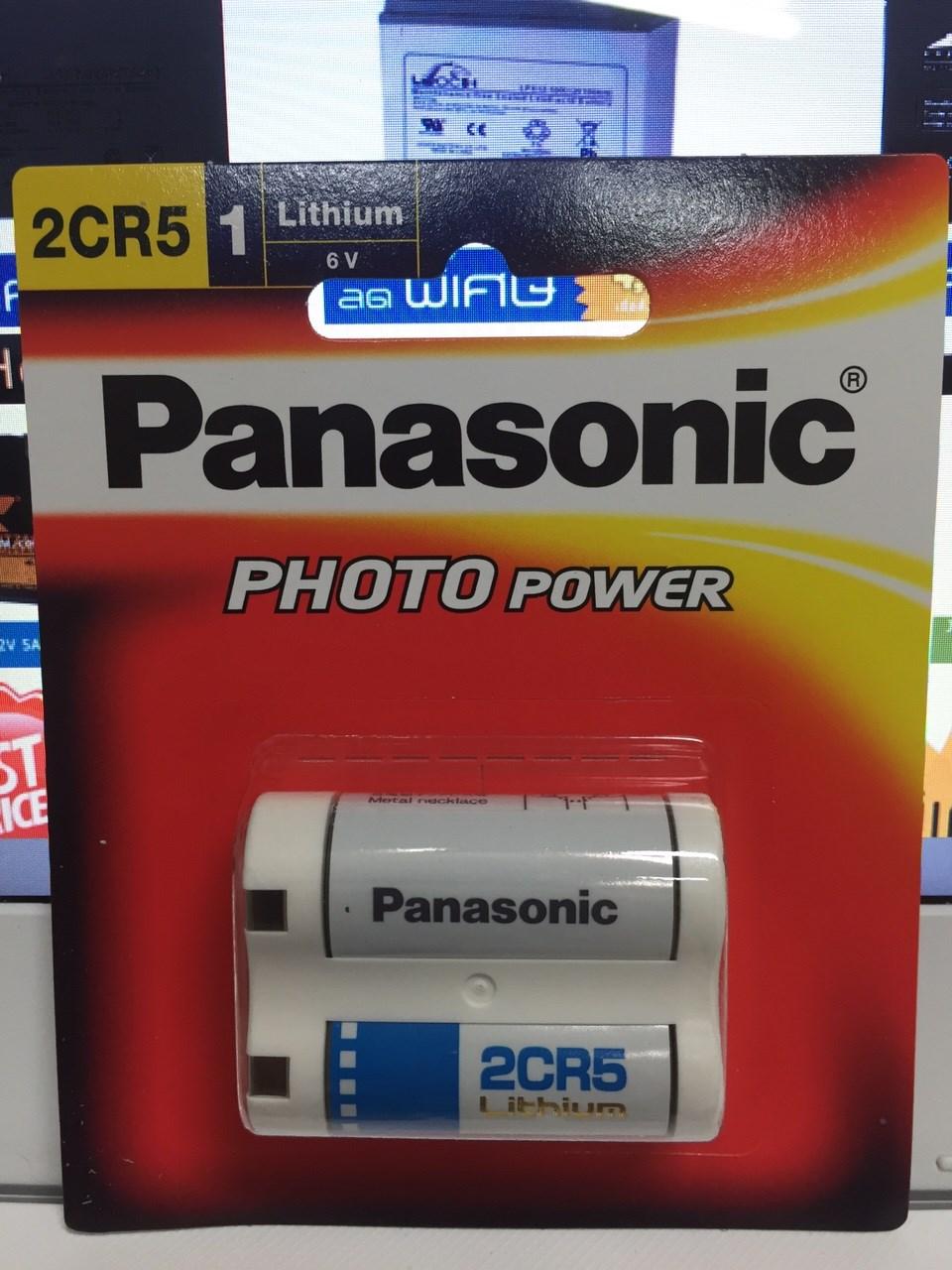 แบตเตอรี่ลิเธียม 2CR5 6V ถ่านกล้อง ถ่ายรูป Cylindrical type lithium batteries