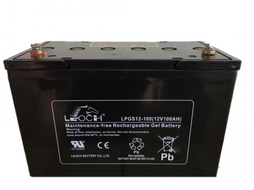 แบตเตอรี่ Deep Cycle LEOCH LPGS12-100  12V100Ah