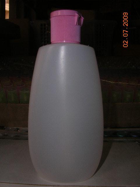 ขวด 100 มล.(500 ใบ)+ฝาสีชมพู