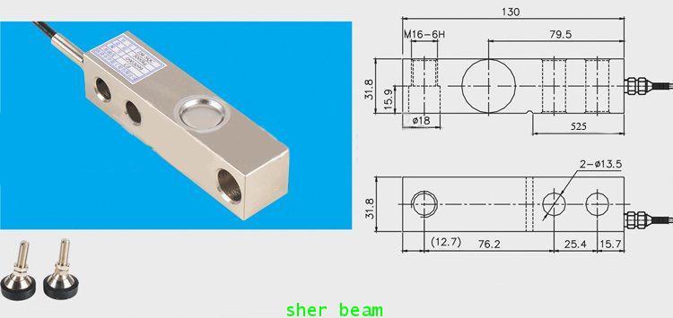 โหลดเซลล์ใช้กับแท่นชั่ง  ชนิดshear beam