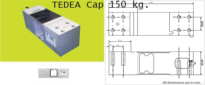TEDEA 1263 CAP.150,300,500kg