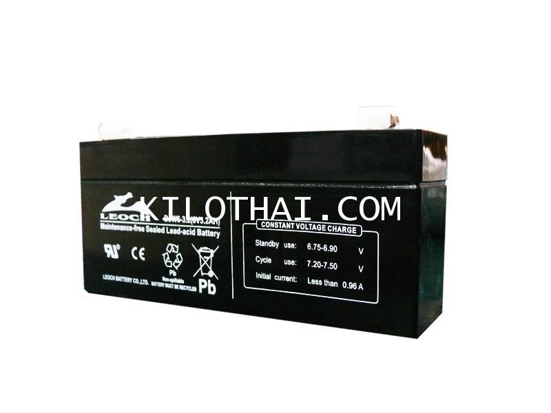Recharge Battery 6V3.2Ah