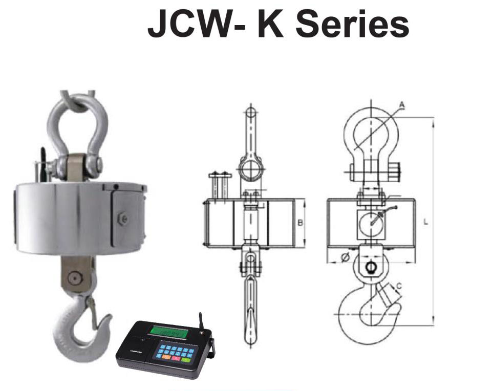 JCW-K เครื่องชั่งแขวนwireless