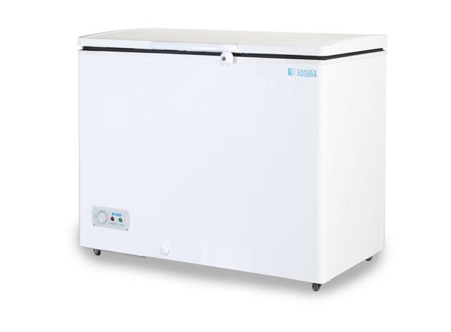 ตู้แช่แข็ง Sanden ขนาด 7.1 คิว (200 ลิตร) ยี่ห้อ Sanden รุ่น SNH-0203