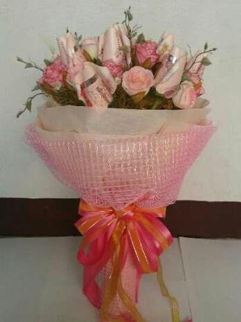 ช่อดอกไม้สวยหวาน