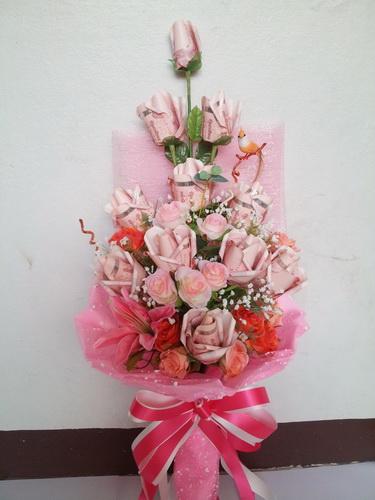 ช่อดอกไม้ช่อยาวสวยหวาน