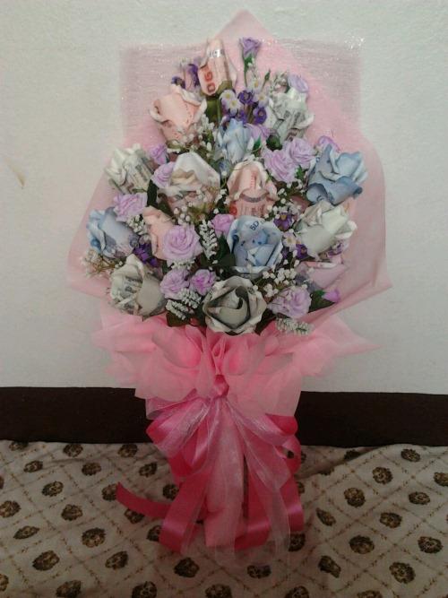 ช่อดอกไม้ช่อยาวเรียบหรู