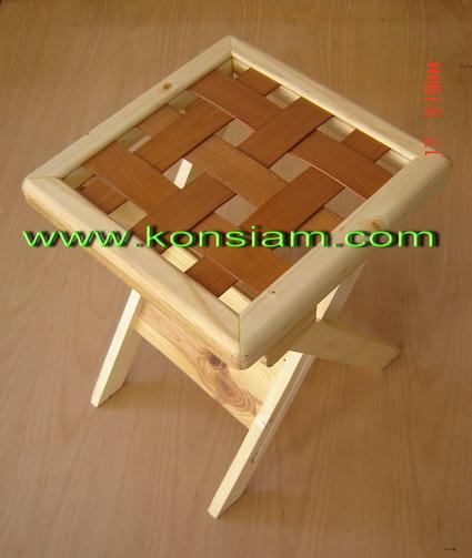 เก้าอี้พับเหลี่ยม 001